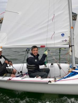Hiro sailing dinghy
